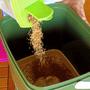 2 - Skaza Bokashi Organko kompostnik, 16 l, črno-zelen + posip 1 kg