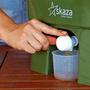 4 - Skaza Bokashi Organko kompostnik, 16 l, črno-zelen + posip 1 kg