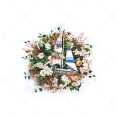 Alexander & Marcus Dekoratívny, letný veniec - Plachetnica