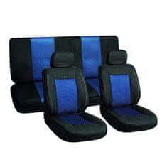 Harmony navlake za sjedala, 6-dijelne, crno-plave