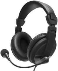 Niceboy słuchawki VOICE Intercom, czarne