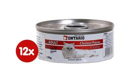 Ontario konzerva Cat Chicken Pieces+Scallop 12 x 95g