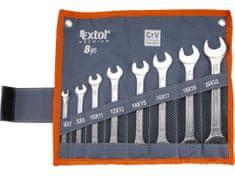 Extol Premium klíče ploché, sada 8ks
