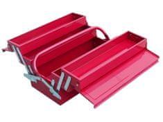 Extol Craft Box na náradie kovový 400x200x200mm, 5-dielny