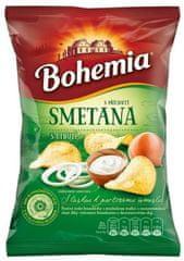 Bohemia Chips s příchutí smetana a cibule 70g