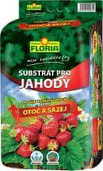 AGRO CS FLORIA Substrát pro jahody 40 l OTOČ A SÁZEJ
