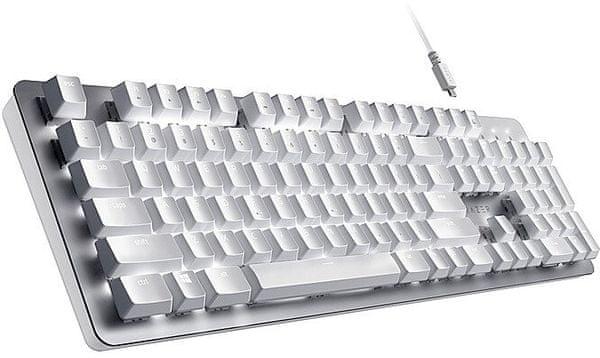 Razer BlackWidow V3 Pro, Razer Green, US (RZ03-03530100-R3M1) mechanická herní klávesnice RGB podsvícená bezdrátová Bluetooth odolná konstrukce podsvícení