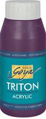"KREUL Akrylová farba ""TRITON SOLO GOYA"", baklažán, 750 ml"