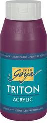 """KREUL Akrylová farba """"TRITON SOLO GOYA"""", bordová, 750 ml"""