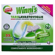 Winni´s Tabs Lavastoviglie tablety do umývačky riadu s vôňou citrusov 25 ks