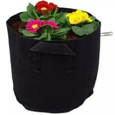 HomeOgarden PlantIN vreća za sadnju, 19 L, crna, 3 komada