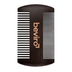 Be-Viro Hrebeň na fúzy z hruškového dreva (Beard Comb)
