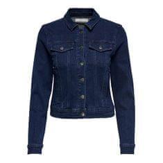Jacqueline de Yong Női dzseki JDYNEWWINNER 15208304 Medium Blue Denim