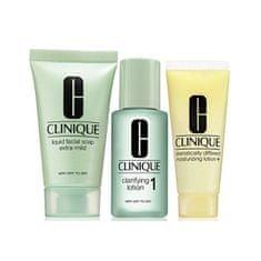 Clinique Čisticí péče pro suchou až velmi suchou pleť (3-Step Introduction Kit Skin Type 1)