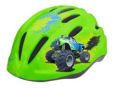 Wista Dětská cyklistická přilba WISTA Hard Shell zelená