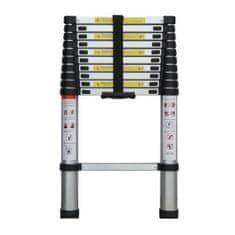 ELKOP Teleskopický Rebrík jednodielny, 10 priečok