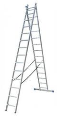 ELKOP Viacúčelový 2-dielny, výsuvný rebríkVHR Hobby 2x14
