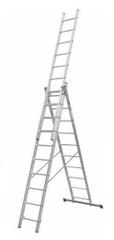ELKOP Univerzálny 3-dielny, výsuvný rebrík VHR Hobby 3x10, rebrik