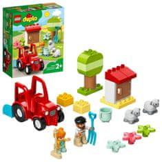 LEGO DUPLO® Town 10950 Traktor a zvieratká z farmy