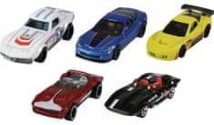 Hot Wheels trkaći automobil, engleski, 5 komada