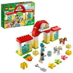 LEGO DUPLO® Town 10951 Stajňa s poníkmi