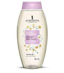 Kozmetika Afrodita gel za tuširanje Extra Sensitive, 250 ml