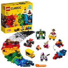 LEGO Classic 11014 Kockák és kerekek