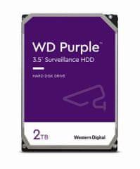 Western Digital tvrdi disk Purple 2TB Sata3, 6Gb/s, 5400, 64 MB