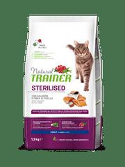 TRAINER Natural Cat Steril. losos 3kg