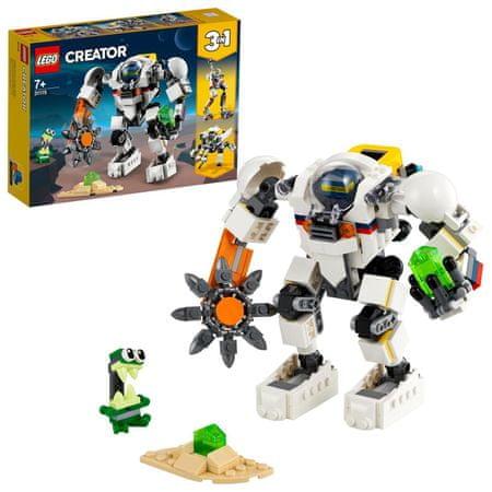 LEGO Creator 31115 Űrbányászati robot