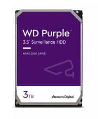 Western Digital trdi disk Purple 3TB SATA3 6Gb/s, 5400, 64 MB