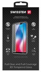SWISSTEN zaštitno staklo Ultra Durable 3D Full Glue Glass Apple iPhone 12 Pro Max 64701866, crno