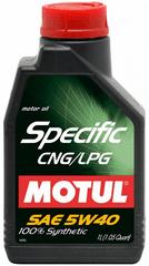 Motul Specific CNG/LPG motorno ulje, 5W40, 1 l