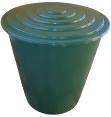 Agro kada za kišnicu sa slavinom i poklopcem, okrugla, 500 L