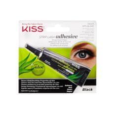 KISS Lepidlo na řasy černé Strip Lash Adhesive with Aloe Black 7 g