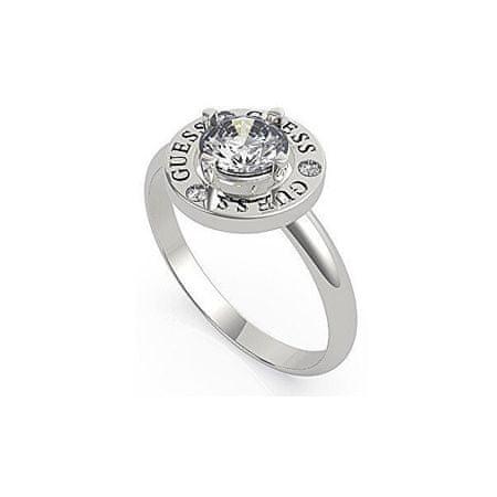 Guess Elegáns acél gyűrű kristállyal UBR20046 (Kerület 54 mm)