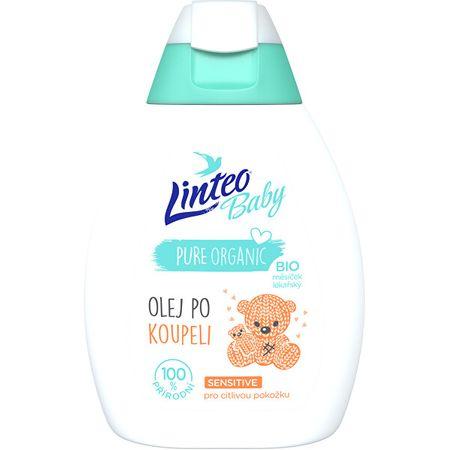 LINTEO Babaolaj fürdés után Bio körömvirággal Baby 250 ml