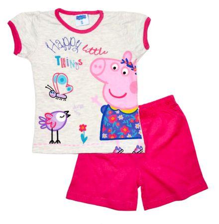 "Eplusm Dekliška bombažna pižama ""Pujsa Peppa"" - roza - 98 / 2–3 leta"