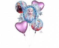 "Anagram Balónová kytica ""Frozen"" 5ks"