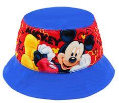 """SETINO Chlapčenský klobúk """"Mickey mouse"""" - svetlo modrá"""