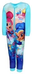 """SETINO Dziewczęca bawełniana piżama """"Shimmer i Shine"""" - niebieski"""