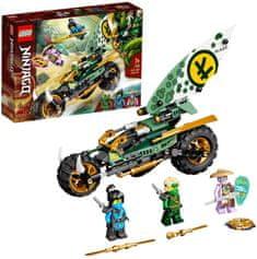 LEGO Ninjago 71745 Lloydová motorka do džungla