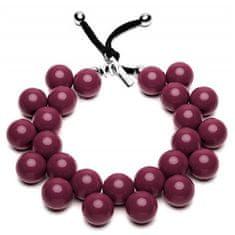 Ballsmania Originální náhrdelník C206 19-1534 Roso Prugna