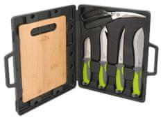 Cattara Grilovací nože sada 4+1+1