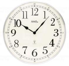 AMS design Nástěnné hodiny 5606 AMS řízené rádiovým signálem 40cm