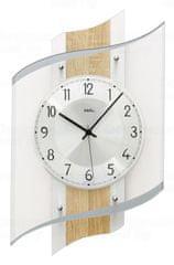 AMS design Designové nástěnné hodiny 5520 AMS řízené rádiovým signálem 48cm