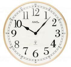 AMS design Nástěnné hodiny 5607 AMS řízené rádiovým signálem 40cm