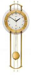 AMS design Luxusní kyvadlové nástěnné hodiny 5257 AMS řízené rádiovým signálem 68cm
