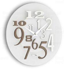 IncantesimoDesign Designové nástěnné hodiny I036GRA IncantesimoDesign 35cm