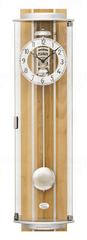 AMS design Luxusní nástěnné mechanické kyvadlové hodiny 2715/18 AMS 77cm